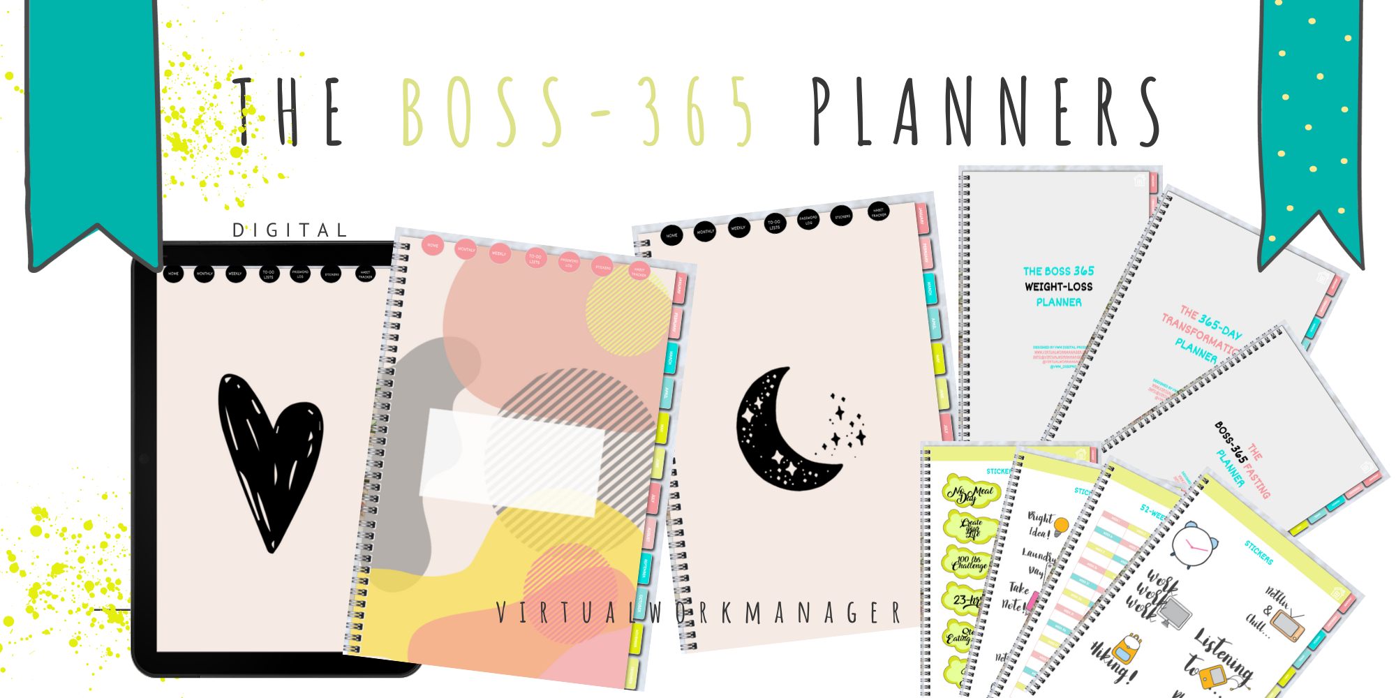 New Digital Planner Range: The Boss-365