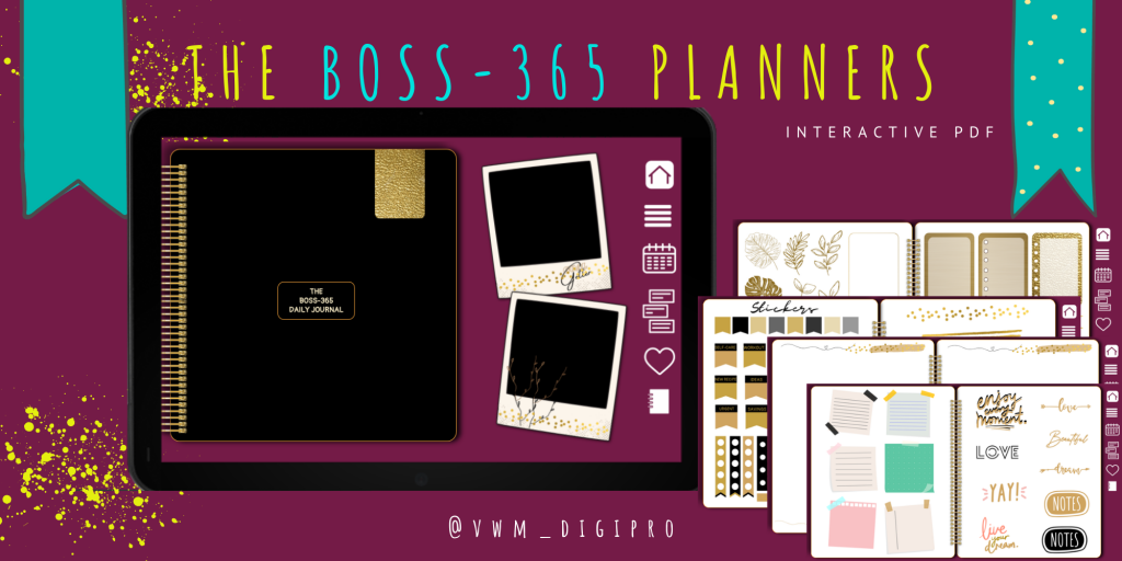 The Boss-365 Daily Journal (Black)